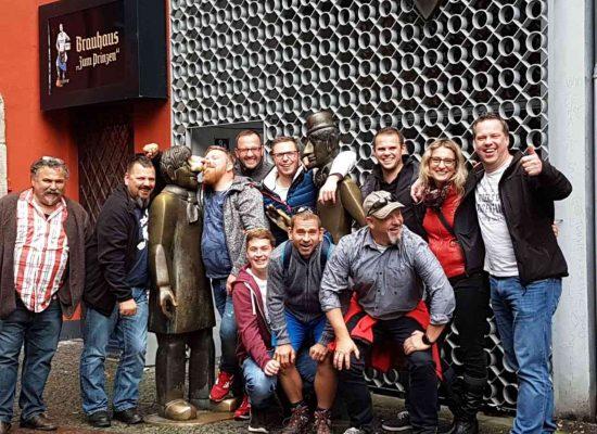 Köln Brauhaustour lustig